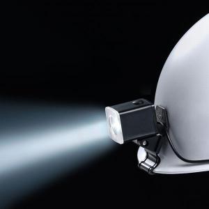 長谷川電機工業 LEDヘルメットライト 遠方照射タイプ 狭角 クリップ式 MP型ヘルメット用 EHL-2X