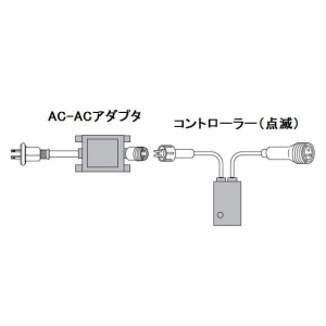 ジェフコム LEDピカライン ローボルト24V コントローラーセット PLD-C60-01P