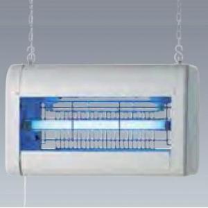 【受注生産品】 岩崎電気 電撃殺虫器 《アイ バーミンショッカー》 捕虫ランプ FL10BL×2灯 DNC1024