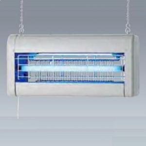 【受注生産品】 岩崎電気 電撃殺虫器 《アイ バーミンショッカー》 捕虫ランプ FL15BL×2灯 SUS(ステンレス部材使用) DNCS1524