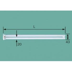 三菱 【ケース販売特価 25個セット】 コンパクト型蛍光ランプ HfBB・1 高周波点灯専用形 32W 3波長形白色 FPL32EW/HF_set