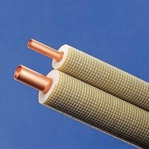 因幡電工 ペアコイル 被覆銅管空調用ペアタイプ 対応冷媒種別:2種 長さ:30m PC-2430