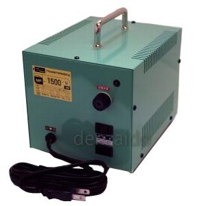 日章工業 変圧トランス 入出力電圧AC120⇔AC100V 定格容量:1500W 《MF-Uシリーズ》 MF1500U