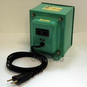 日章工業 変圧トランス 入出力電圧AC220⇔AC100V 定格容量:1000W 《MF-Eシリーズ》 MF1000E