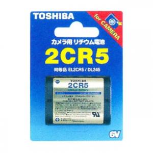 東芝 【ケース販売特価 10個セット】 カメラ用リチウム電池 6V 30mA 1400mAh 2CR5G_set