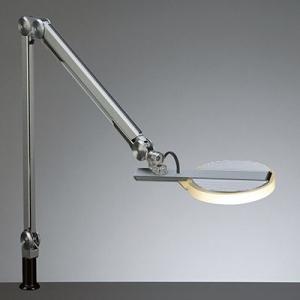 山田照明 LEDスタンドライト クランプ式 白熱灯100W相当 調光機能付 シルバー 《Zライト》 Z-70SL