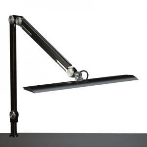山田照明 LEDスタンドライト クランプ式 白熱灯100W相当 調光機能付 ブラック 《Zライト》 Z-63B