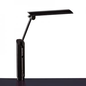 山田照明 LEDスタンドライト クランプ式 白熱灯60W相当 人感センサー付 ブラック 《Zライト》 Z-3600B
