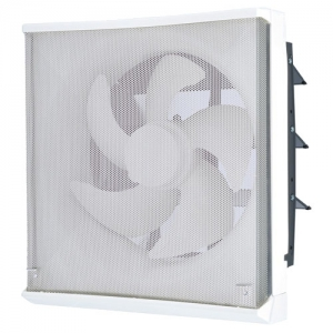 三菱 標準換気扇 ワンタッチフィルター 台所用 再生形 電気式シャッター 引きひもなし 電源コード(プラグ付) 20cm EX-20EFH6-M