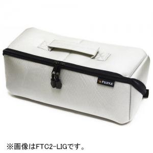 フジ矢 ヒッポケース 布製工具ケース L FTC2-LIG アイスグレー 日本 サイズ:340×130×130mm 商い