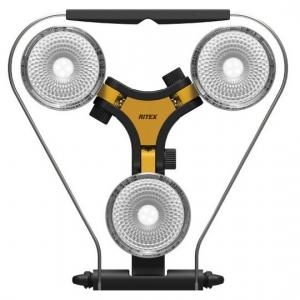ライテックス スーパーワークライト LED×3灯(ハロゲン投光器300W相当) 防水仕様 WT-1000
