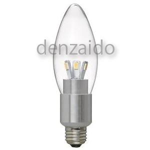 ヤザワ 【ケース販売特価 10個セット】 LED電球 シャンデリア形 クリア 25W相当 全光束280lm 電球色 E17口金 LDC4LG32E17_set
