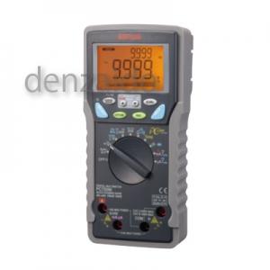 三和電気計器 デジタルマルチメータ 高確度・高分解能 真の実効値測定 多機能13ファンクション 直流電圧/電流 交流電圧/電流 抵抗 他 PC720M