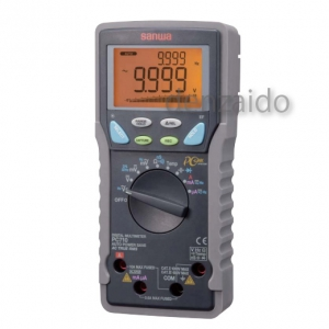 三和電気計器 デジタルマルチメータ 高確度・高分解能 真の実効値測定 多機能13ファンクション 直流電圧/電流 交流電圧/電流 抵抗 他 PC710