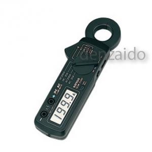 三和電気計器 クランプメータ DC/AC両用 コンパクトタイプ 6ファンクション 交流電圧/電流 直流電圧/電流 抵抗 導通 DCM-22AD