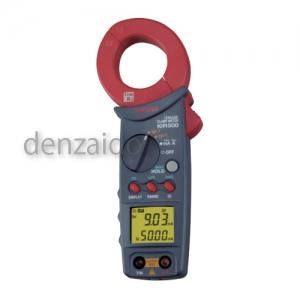 三和電気計器 クランプメータ Iorリーク測定 基準電圧(R-T間、A-N間) 交流電流(Io) 抵抗分漏洩電流(Ior) 絶縁抵抗 I0R500