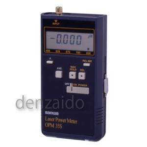 三和電気計器 レーザパワーメータ 測定範囲0.001μW~50.00mW OPM35S