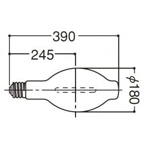 岩崎電気 アイサンルクスエース 拡散形 940W NH940FL