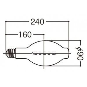 岩崎電気 FECサンルクスエース 拡散形 180W NH180FLS