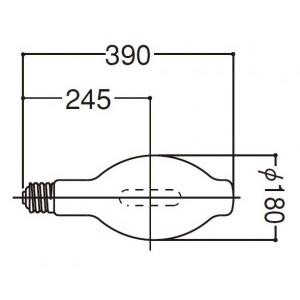 岩崎電気 メタルハライドランプ M1000BBU