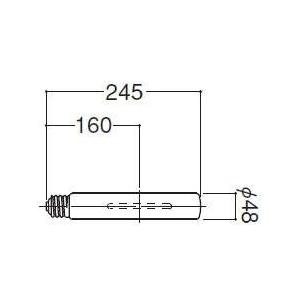 岩崎電気 メタルハライドランプ 220W MT220CELSWBH