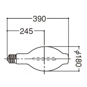 岩崎電気 高圧ナトリウムランプ NH940FLS