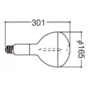 岩崎電気 高圧ナトリウムランプ NHR270LS