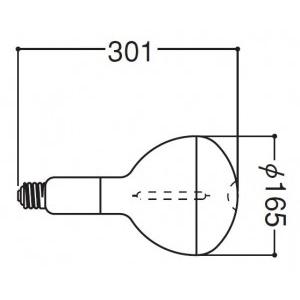 岩崎電気 高圧ナトリウムランプ NHR150DX