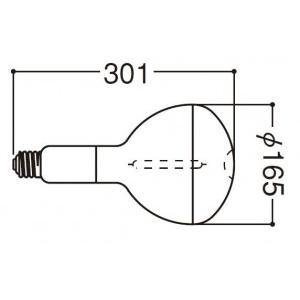 岩崎電気 高圧ナトリウムランプ NHR220LS