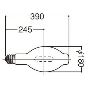 岩崎電気 UVカット形 マルチメタルランプ M1000BBHUVC