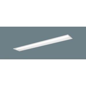 パナソニック 【10台セット】 一体型LEDベースライト《iDシリーズ》40形 埋込型 下面開放型 W190 美光色タイプ XLX460RBVJLE9_set