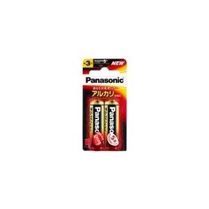 パナソニック アルカリ乾電池 単3形 2個ブリスター×100パックケース販売 LR6XJ2B*100P