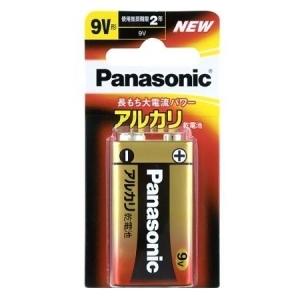 パナソニック アルカリ乾電池 9V形 1個ブリスター×200パックケース販売 6LR61XJ1B*200P