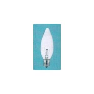 アサヒ 【お買い得品 50個セット】 シャンデリアランプ C32 105V40W 全光束:420lm 口金:E17 クリヤー C32E17100/110V-40W(C)_50set