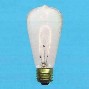 アサヒ 【お買い得品 100個セット】 エジソンランプ S60 110V40W 全光束:100lm 口金:E26 クリヤー エジソンランプS60E26110V-40W_100set