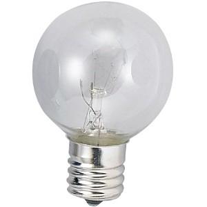 アサヒ 【お買い得品 100個セット】 ボール球 G40 110V5W 全光束:25lm 口金:E12 クリヤー G40E12110V-5W(C)_100set