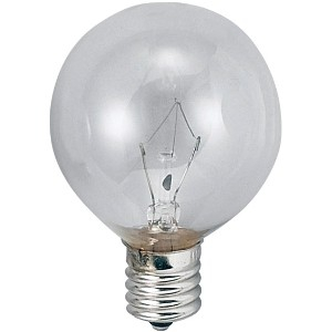 アサヒ 【お買い得品 100個セット】 ボール球 G50 105V25W 全光束:250lm 口金:E12 クリヤー G50E12100/110V-25W(C)_100set