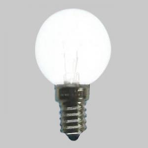 アサヒ 【お買い得品 100個セット】 ボールランプ G50(海外口金) 110V10W 全光束:55lm 口金:E14 ホワイト G50E14110V-10W(S)_100set