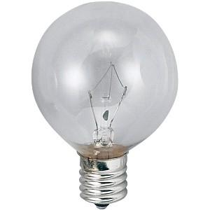 アサヒ 【お買い得品 100個セット】 ボール球 G50 105V60W 全光束:720lm 口金:E17 クリヤー G50E17100/110V-60W(C)_100set