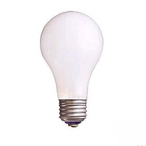アサヒ 【お買い得品 100個セット】 白熱電球 110V 60W ホワイト E26口金 LW110V60W55_100set