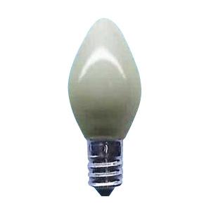 アサヒ 【お買い得品 100個セット】 ローソク球 C7 50V5W 全光束:10lm 口金:E12 ホワイト ローソクC7E1250V-5W(S)_100set