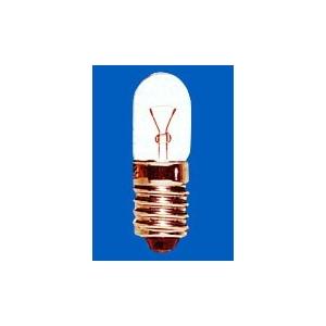 アサヒ 【ケース販売特価 100個セット】 パイロットランプ T10 6.3V0.15A 全光束:6.3lm 口金:E10 クリヤー T10E106.3V-0.15A_set