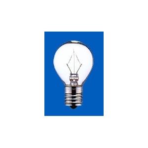 アサヒ 【お買い得品 100個セット】 ミニランプ S35 110V15W 全光束:90lm 口金:E17 クリヤー S35E17110V-15W(C)_100set
