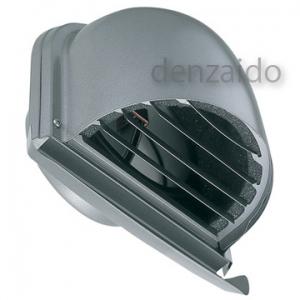 バクマ工業 防音フード U型フード付換気口 防火ダンパー付 フード・ルーバー脱着式 水切り付 取付穴付 ステンレス製 シルバーメタリック 200φ用 PSD-200SUV2