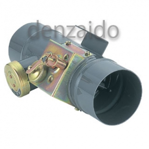 バクマ工業 中間ダンパー 防火ダンパー自主管理制度適合品 呼び径175用 PDB-R175