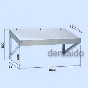 バクマ工業 エアコン室外ユニット架台 パッケージエアコン用 防雪屋根(壁面用) ZAM製+溶融亜鉛メッキ仕上げ B-BY16K