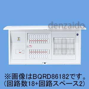 パナソニック スタンダード住宅分電盤 リミッタースペースなし 大形フリースペース付 露出 半埋込両用形 回路数34 回路スペース2 100A コスモパネルコンパクト21 BQRD810342