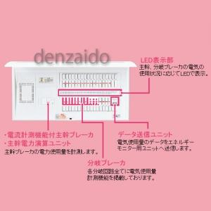 パナソニック ECOマネシステム専用住宅分電盤 エコキュート・電気温水器・IH対応 エコキュート用ブレーカ容量40A リミッターvyNn0wm8O