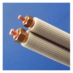 因幡電工 【ケース販売特価 5巻セット】 フレア加工済み空調配管セット 7m VVFケーブル付 SPH-F237V3_set