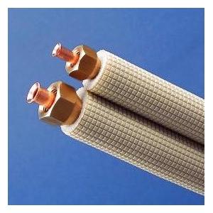 因幡電工 【ケース販売特価 5巻セット】 フレア加工済み空調配管セット 5m SPH-F235_set